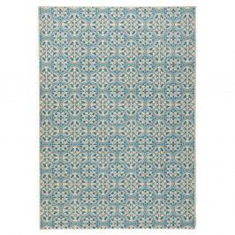 Modrý běhoun Hanse Home Gloria Pattern, 80x300cm