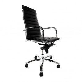 Černá kancelářská židle Kokoon Torino