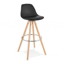 Černá barová židle Kokoon Anau, výškasedu74cm