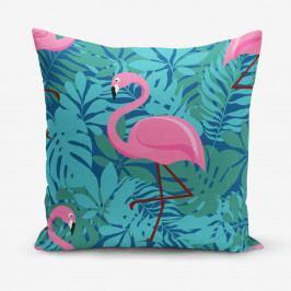 Povlak na polštář s příměsí bavlny Minimalist Cushion Covers Hidden Garden, 45 x 45 cm