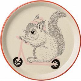 Dětský keramický talíř Bloomingville Mollie, ⌀20 cm