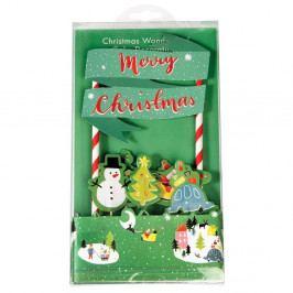 Vánoční set na zdobení dortu Rex London Wonderland