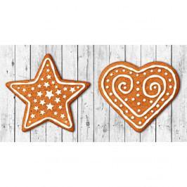Kuchyňský běhoun Crido Consulting Gingerbread Hearth, délka 100 cm