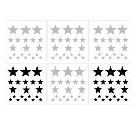 Set nástěnných samolepek Dekornik Stars