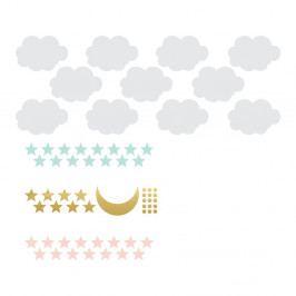Set nástěnných samolepek Dekornik Sky