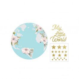 Nástěnná samolepka Dekornik My Little World Pastel, ø60cm