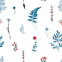 Tapeta na zeď Dekornik Blue Meadow, 50x280cm