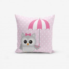 Povlak na polštář s příměsí bavlny Minimalist Cushion Covers Umbrella, 45 x 45 cm