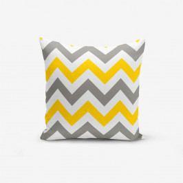 Povlak na polštář s příměsí bavlny Minimalist Cushion Covers Scandisimo, 45 x 45 cm