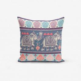 Povlak na polštář s příměsí bavlny Minimalist Cushion Covers Elephant, 45 x 45 cm