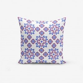 Povlak na polštář s příměsí bavlny Minimalist Cushion Covers Special Design Flower Modern, 45 x 45 cm
