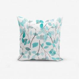 Povlak na polštář s příměsí bavlny Minimalist Cushion Covers Leaves, 45 x 45 cm