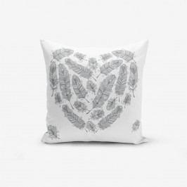 Povlak na polštář s příměsí bavlny Minimalist Cushion Covers Desen, 45 x 45 cm