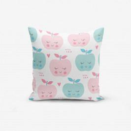 Povlak na polštář s příměsí bavlny Minimalist Cushion Covers Colorful Elmalar, 45 x 45 cm
