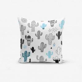 Povlak na polštář s příměsí bavlny Minimalist Cushion Covers With Points Col Bitkisi, 45 x 45 cm
