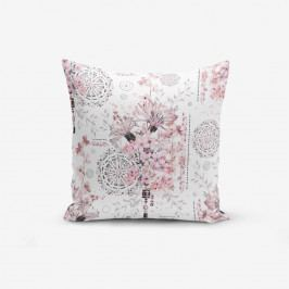 Povlak na polštář s příměsí bavlny Minimalist Cushion Covers Powder Colour Working Theme, 45 x 45 cm