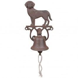 Litinový nástěnný zvonek s motivem psa Ego Dekor