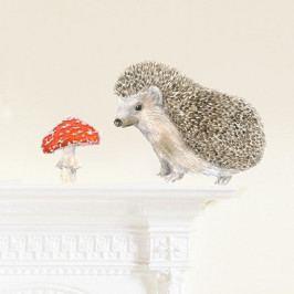 Znovu snímatelná samolepka Chocovenyl Hedgehog Mini