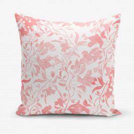 Povlak na polštář s příměsí bavlny Minimalist Cushion Covers Delicate, 45 x 45 cm