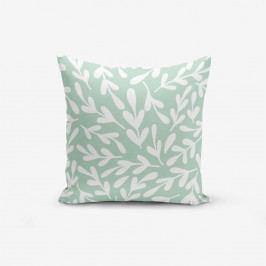 Povlak na polštář s příměsí bavlny Minimalist Cushion Covers Mind, 45 x 45 cm