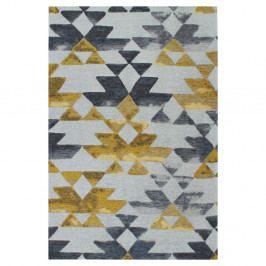 Koberec Tria Grey/Yellow, 160 x 230 cm