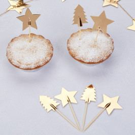 Sada 20 párátek s ozdobami Neviti Dazzling Christmas