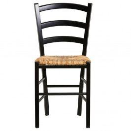 Sada 2 černých jídelních židlí Marckeric Paloma