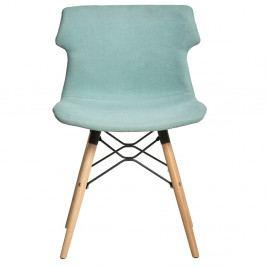Sada 4 světle zelených jídelních židlí Marckeric Cala