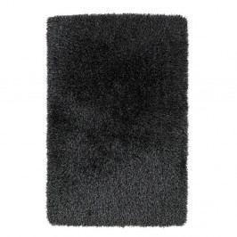 Tmavě šedý ručně tuftovaný koberec Think Rugs Monte Carlo Grey, 100 x 150 cm