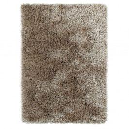 Hnědý ručně tuftovaný koberec Think Rugs Monte Carlo Mink, 80 x 140 cm