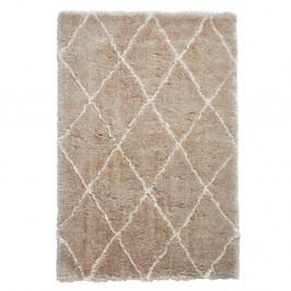 Béžovo-krémový ručně tuftovaný koberec Think Rugs Morocco Beige & Cream, 120 x 170 cm