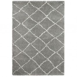 Šedo-krémový koberec Think Rugs Royal Nomadic Grey & Cream, 160 x 230 cm