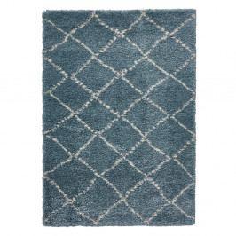 Modro-krémový koberec Think Rugs Royal Nomadic Team & Cream, 120 x 170 cm