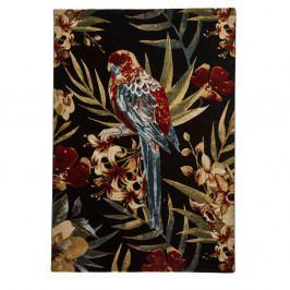 Koberec Think Rugs Tropics Parejo Black & Multi, 120 x 170 cm