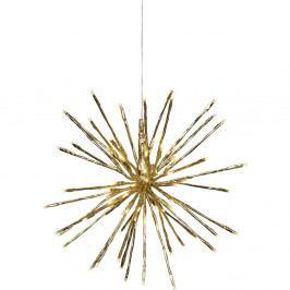 Závěsná svítící LED dekorace vhodná doexteriéru Best Season Firework, Ø 30 cm