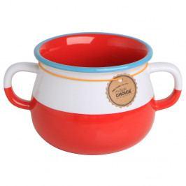 Hrnek z kostního porcelánu v muzikálním balení Silly Design Have a whole latte cheer, 320ml