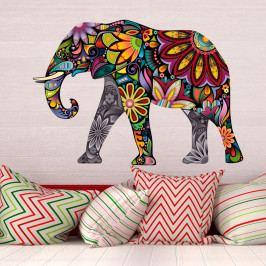 Samolepka Ambiance India Elephant, 60 x 85 cm