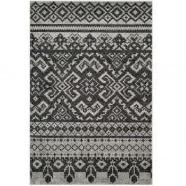 Černý koberec Safavieh Amina Area, 121x182cm
