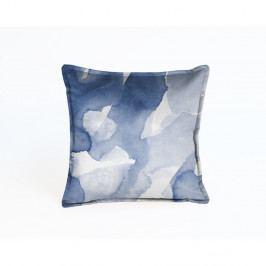 Modrý dekorativní povlak na polštář Velvet Atelier Sky, 45 x 45 cm
