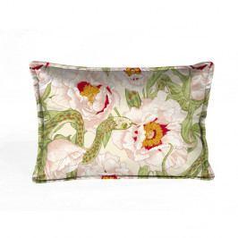Barevný dekorativní polštář Velvet Atelier Anima Flora, 50 x 35 cm