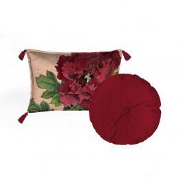 Sada 2 dekorativních polštářů Velvet Atelier Geisha