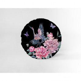 Kulatý dekorativní polštář se sametovým potahem Velvet Atelier Garza, ⌀ 45 cm
