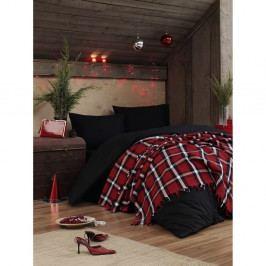 Lehký přehoz přes postel Irina Red, 200x240cm