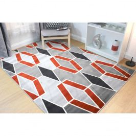 Koberec Flair Rugs Cocktail Maitai Grey Terracotta, 80 x 150 cm
