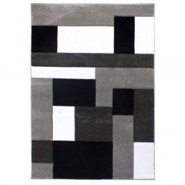 Černošedý koberec Flair Rugs Cosmos Black Grey, 120x170cm