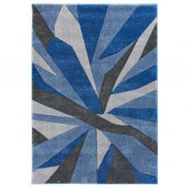 Modrošedý koberec Flair Rugs Shatter Blue Grey, 80x150cm