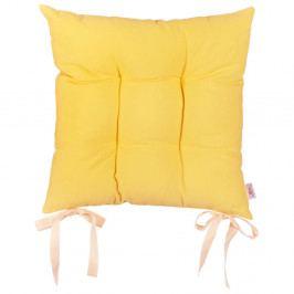 Žlutý podsedák Apolena Simply Yellow, 41x41cm
