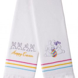 Sada 2 ručníků Apolena Happy Easter Rabbits, 50x76 cm