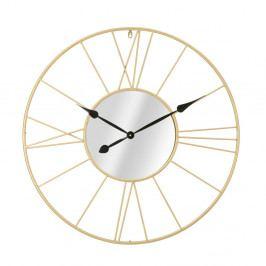 Nástěnné hodiny ve zlaté barvě Mauro Ferretti Vionae, ⌀ 80 cm