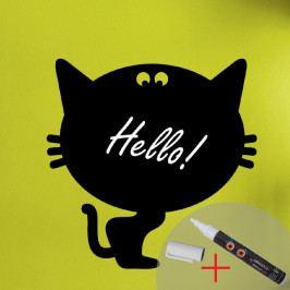 Tabulová samolepka s tekutou křídou Fanastick Cat
